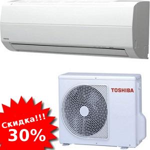 распродажа инверторных сплит-систем Toshiba (Тошиба)