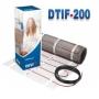 DEVImat™ 200T (DTIF-200) 87 Вт нагревательный двухжильный мат DEVI